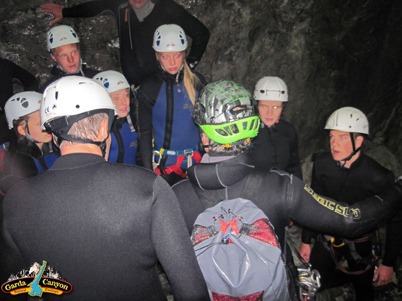 Briefing-Canyoning