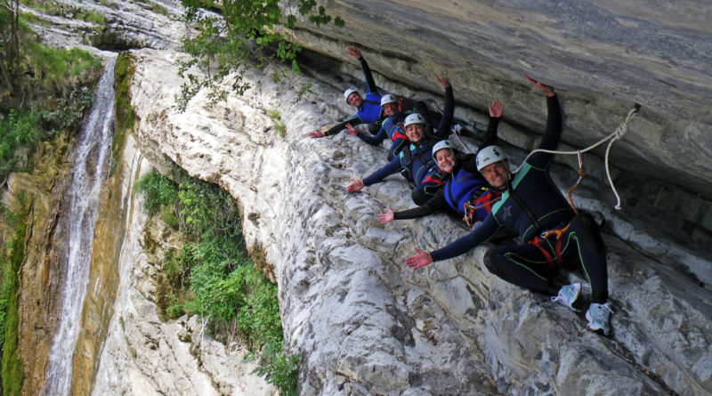 Canyoning Tignale Vione