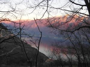 Monte Baldo dalla Bassa Via del Garda