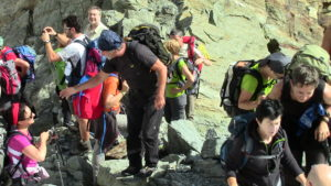 Trekking nel gruppo del Bernina