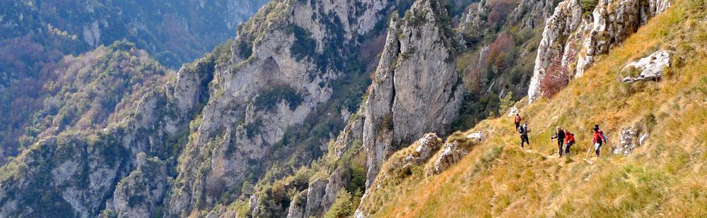 Escursionismo Parco Alto Garda