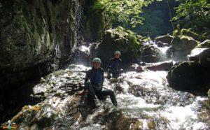 Canyoning Valle di Ledro Lago di Garda