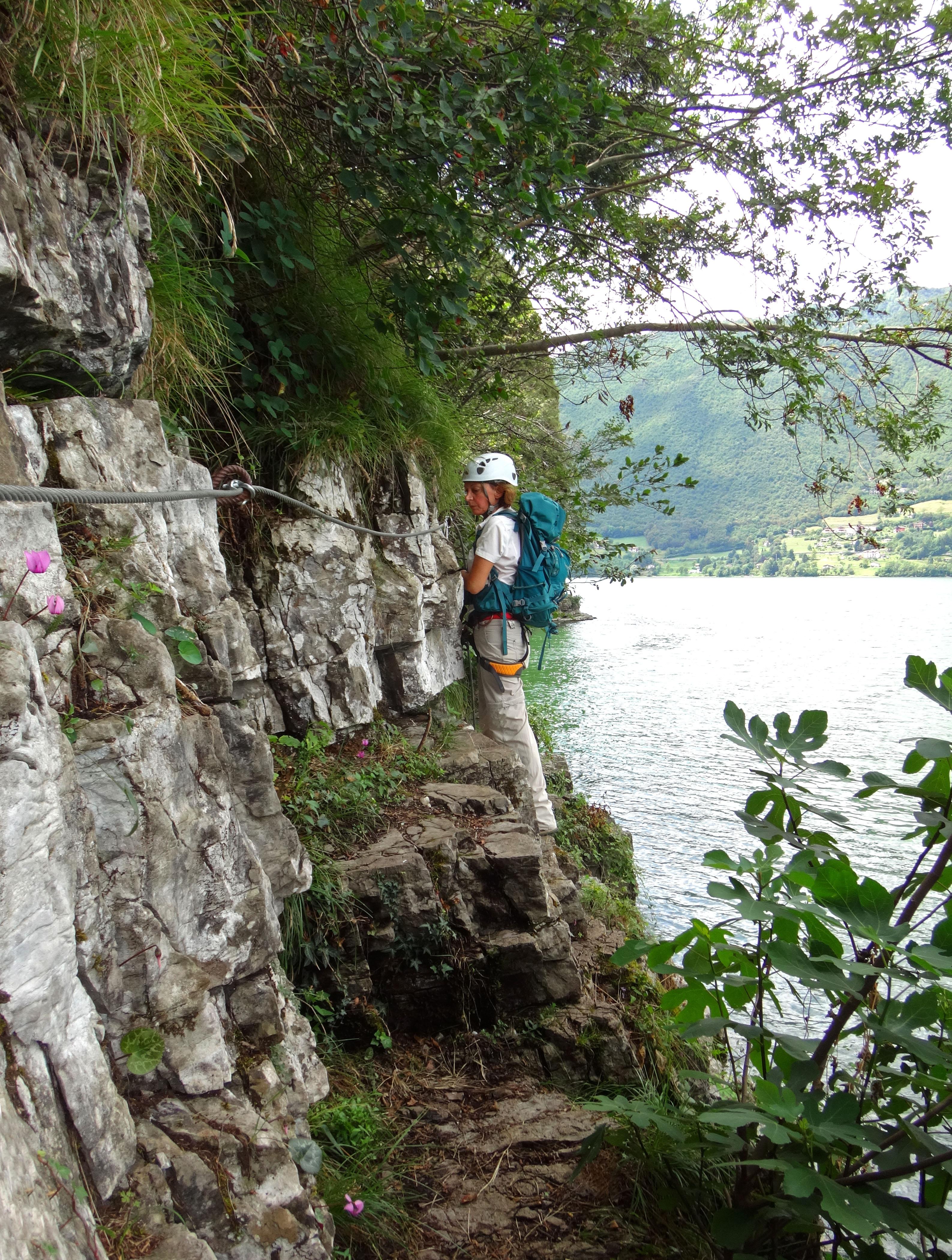 Ferrata Sasse Lago d'Idro