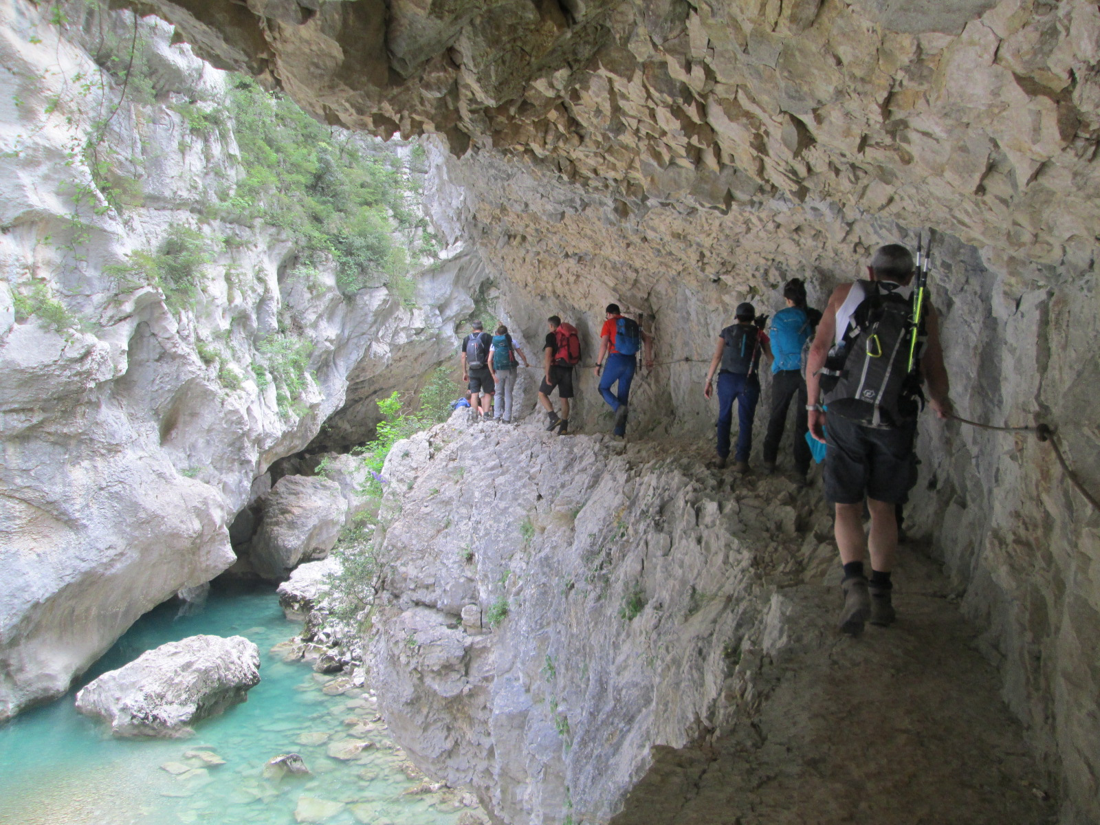 Trekking del Verdon 2016