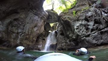 Rionero  Jurassic Canyoning