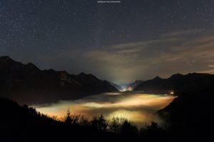 Notturna sul Lago d'Idro