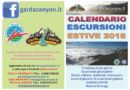 Calendario escursioni 2018