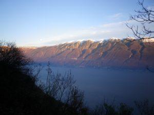 Trekking sulla Bassa via Del Garda